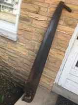 Antique One-2 Man Crosscut Lumber Saw in St. Charles, Illinois