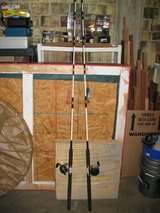 2 X Penn Long Beach 3366C 6 1/2' Boat Combo Rod and Reels in Las Vegas, Nevada