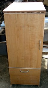 """Cabinet with Drawer & Shelves 40 1/4""""H x 15 1/2""""W x 20 1/2""""D in Alamogordo, New Mexico"""