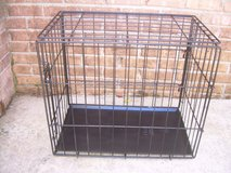 METAL FOLD UP ANIMAL CAGE/CRATE----STILL AVAILABLE in Perry, Georgia
