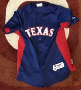 Texas Rangers Jersey (youth large) in Pasadena, Texas