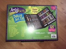 Artyfacts Art Kit for kids, crayons, color pencils, paints, oil pastels in Oswego, Illinois