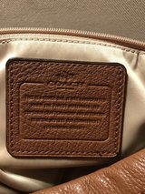 Authentic Coach Purse (tan) in Pasadena, Texas