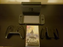 Nintendo Switch + Zelda: Breath of the Wild + Pro Controller in Savannah, Georgia
