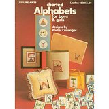 1979 Charted Alphabets for BOYS and GIRLS Needlepoint or Cross Stitch in Glendale Heights, Illinois