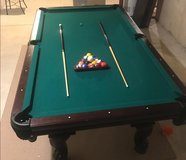 American Heritage 8ft Pool table in Joliet, Illinois