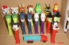 Pez Dispensers in Glendale Heights, Illinois
