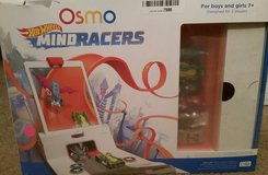 Osmo hot wheels mind racers kit (iPad base included) in Aurora, Illinois