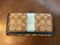 Coach Brown Wallet in Joliet, Illinois