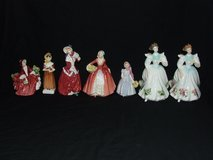 Royal Doulton Lady Figurines England Bone China Collection in Lockport, Illinois