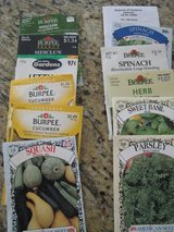 Vegetable and flower seeds, and moisture meter in Orland Park, Illinois