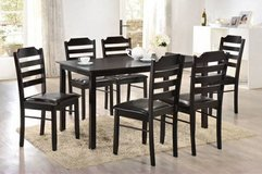 INVENTORY BLOWOUT SALE! QUALITY BRAND NEW URBAN 7PC WOOD DINING SET! in Camp Pendleton, California