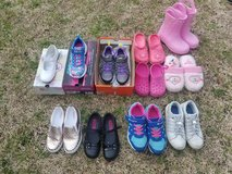 GIRL SHOES-SIZE 3 YOUTH TO 10 TODDLER in Wilmington, North Carolina