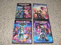 """MONSTER HIGH """"13 WISHES"""" """"GHOULS RULE"""" """"FRIGHTS CAMERA ACTION"""" """"DOUBLE FEATURE"""" in Camp Lejeune, North Carolina"""
