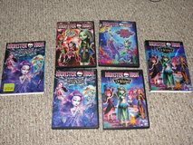 """MONSTER HIGH """"13 WISHES"""" """"GREAT SCARRIER REEF"""" """"FREAKY FUSION"""" """"HAUNTED"""" in Camp Lejeune, North Carolina"""