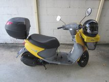 Autobike Moped 50cc Suzuki Let's 4. Insurance 3 years remaining in Okinawa, Japan