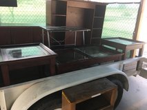Two end tables and coffee table coffee table needs one piece of glass replaced in 29 Palms, California