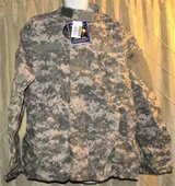 MILITARY SHIRT JACKET TOP COMBAT UNIFORM SHIRT ACU ACS DIGITAL X LARGE REG NEW in Fort Lewis, Washington