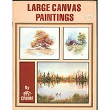 1980 PAT CRUME HOW-TO OIL PAINTING LG CANVAS BOOKLET in Oswego, Illinois