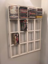 Discontinued Ikea Lerberg DVD/CD wall mount Racks in Fort Meade, Maryland