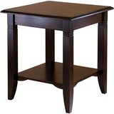 Nolan End Table (Cappuccino) - NEW! in Naperville, Illinois