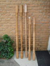5 Wooden Balusters in Kingwood, Texas
