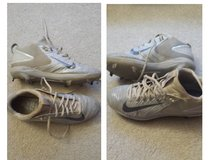 Nike - Mike Trout model metal baseball cleats size 8.5 in Lockport, Illinois