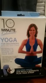 10 Minute Solution: Yoga for Beginners Kit with Yoga Strap in Okinawa, Japan