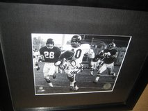 Signed Gale Sayers photo in Elgin, Illinois