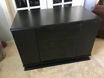 Black TV stand in Kingwood, Texas