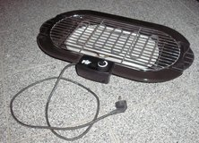 electric powered grill barbecue BBQ 220-240 V for indoor and outdoor use in Stuttgart, GE