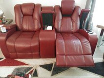 Two recliners loveseat red must go in Conroe, Texas