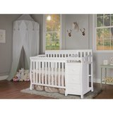 Dream On Me Convertible Crib and Changer (White) - NEW! in Naperville, Illinois