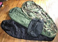 US Military Army Modular Sleep System MSS 4 Piece Sleeping Bag Woodland Camo in Fort Lewis, Washington
