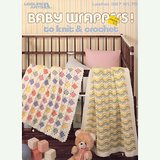 1985 BABY AFGHANS / WRAPPERS to KNIT CROCHET, 4 Patterns LA #397 in Glendale Heights, Illinois