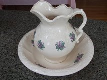 VINTAGE WASH BASIN AND PITCHER in Lockport, Illinois