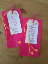 3 Baby Shower Favor Bags 3.5 x 6.75 inches in Ramstein, Germany