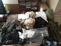 military items ruck sack pts kevlar fire proof gloves cold weather glooves 10 pairs silkys ven 3... in Fort Riley, Kansas