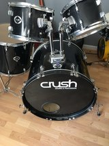 Very Nice Youth Size Crush Drum Set 7 Piece in Byron, Georgia