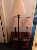 Lamps and end tables like new. in Wilmington, North Carolina
