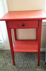 Little RED table w/drawer in El Paso, Texas