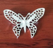 Butterfly pin in Fort Bliss, Texas