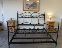 Cal king bed frame in Yucca Valley, California