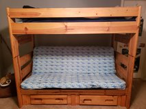 Wood Bunk Bed in Bolingbrook, Illinois