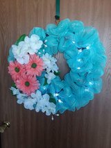 18 inch homemade wreath in Fort Drum, New York