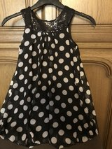 Polka dress for a girl in age 8T in Ramstein, Germany