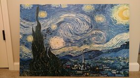 Starry Night Canvas in Fort Benning, Georgia