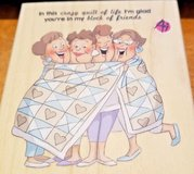 Stamp-Scrapbooking-Cardmaking-Crafting-Wood-Mounted-AI-Quilt-Sisters-New  Stamp-Scrapbooking-Car... in Quantico, Virginia