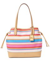 ***NEW***Striped Canvas Lauren Ralph Lauren Tote Handbag*** in Conroe, Texas
