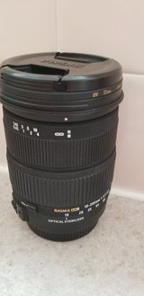 Canon 18-200mm 1:3.5-6.3 in Fort Riley, Kansas